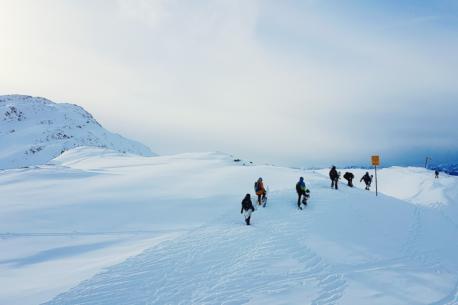 Ski safari Arlberg in Austria