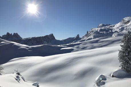 Vacanza per sciatori a Cortina d'Ampezzo