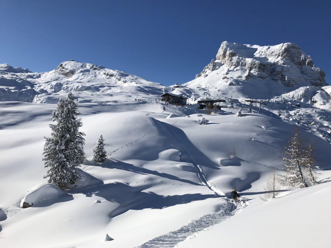 Freeride a Cortina