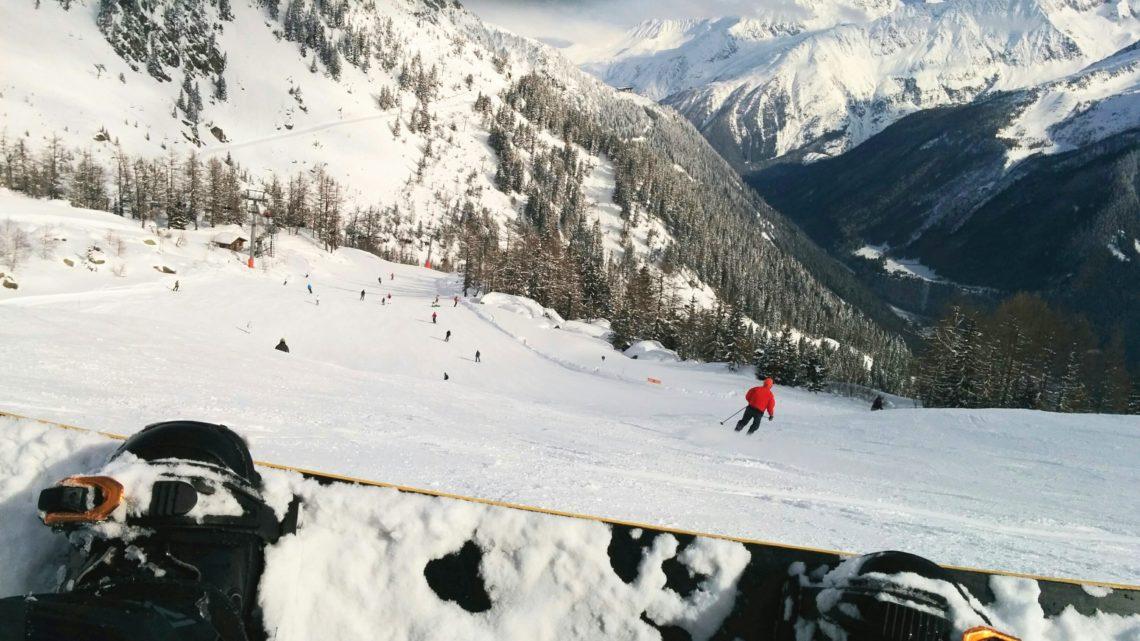 Sciare Chamonix-Mont-Blanc
