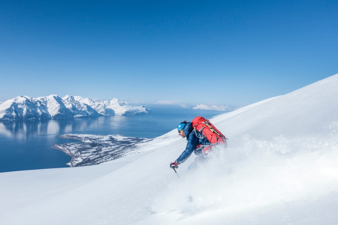 Freeride in Norvegia